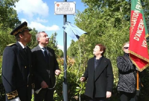 Inauguration de la Place Lazar Ponticelli