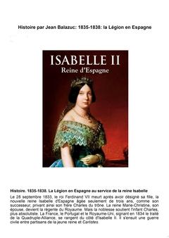 La Légion en Espagne 1835-1838